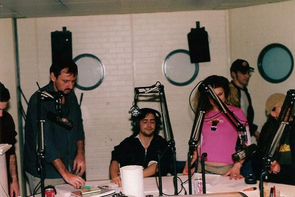 Meuble, Helmut, Fred, Petit Bouchon, Cosset (!) & Marie.