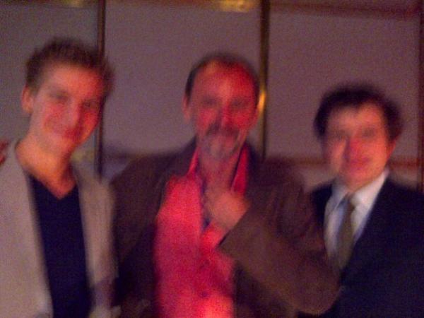 Ouamdu, Dr Morin (alias Dr Perchut) et Jean-Mathieu Pernin (alias Léon Tom Cruise)