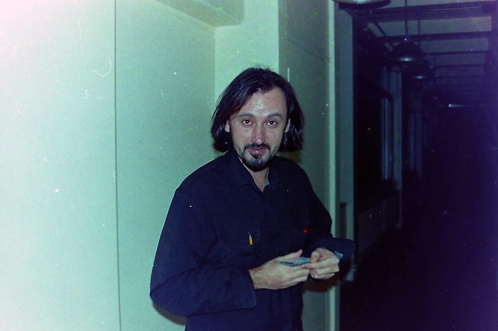 Helmut dans les studios